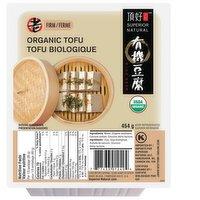 Superior Tofu - Organic Medium Firm Tofu, 454 Gram