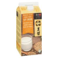 Superior Tofu - Reduced Sugar High Fibre Soy Drink, 1.89 Litre