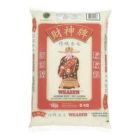 Jasmine rice is a long grain rice with a delicate floral and buttery scent.