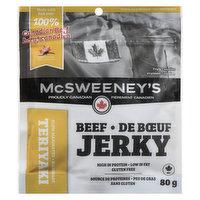 McSweeney's - Beef Jerky Teriyaki