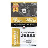 McSweeney's - Beef Jerky - Teriyaki