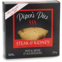 Piper's Pies - Steak & Kidney Pie