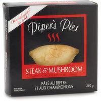 Piper's Pies - Steak & Mushroom Pie