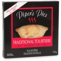 Piper's Pies - Traditional Tourtiere Pie