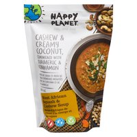 Happy Planet Happy Planet - Organic West African Squash and Cashew Soup, 500 Millilitre