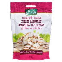 Fresh Gourmet Fresh Gourmet - Sliced Almonds Toasted, 99 Gram