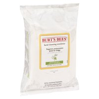 Burts Bees - Facial Cleansing Towelettes w/ Cotton Extract, 30 Each