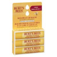 Burt's Bees - Beeswax Lip Balm w/ Vitamin E & Peppermint