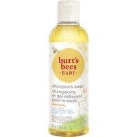 Burt's Bees Burt's Bees - Baby Bee Shampoo & Wash Tear Free, 235 Millilitre