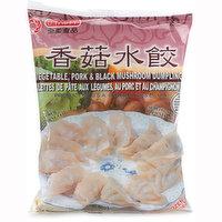 O'Tasty - Vegetable, Pork & Black Mushroom Dumplings, 567 Gram