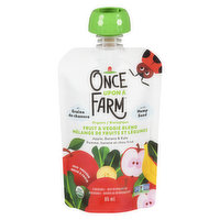 Once Upon A Farm Once Upon A Farm - Baby Puree - Apple Banana Kale Stage 2, 85 Millilitre