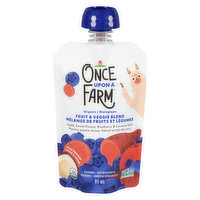 Once Upon A Farm - Baby Puree - Apple Sweet Potato Blueberry, 85 Millilitre