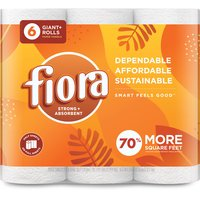 Fiora Fiora - Giant Roll Paper Towels, 6 Each