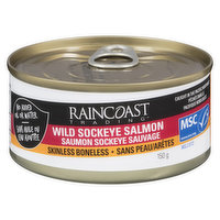 Raincoast Trading Raincoast Trading - Sky Slmon Skinless Boneless, 150 Gram