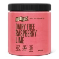 Righteous - Raspberry Lime Sorbetto - Dairy Free, 562 Millilitre