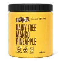 Righteous Righteous - Mango Pineapple Sorbetto - Dairy Free, 562 Millilitre