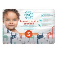 These super-absorbent, eco-friendly diapers are made with naturally derived & sustainable materials & theyre gentle for your babys delicate skin. 34 diapers.