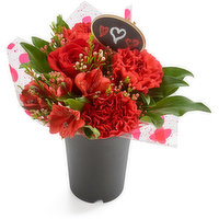 Petite Bouquet - Flowers in a Cup, 1 Each