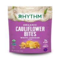 Rhythm Superfoods Rhythm Superfoods - Organic Cauliflower Bites - White Cheddar, 40 Gram