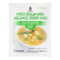 Mishima Mishima - Miso Soup Mix - White, 3 Each
