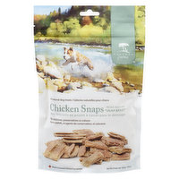 These crunchy treats are made with Canadian chicken and scored into easy to break, bite size pieces. No additives, no preservatives, no artificial colours.