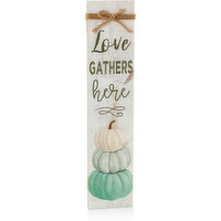 Love - Gathers Here Porch Sign