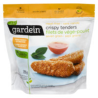 Frozen. Theres no guilt with these easy, delicious, and crispy chickn strips. Everyone likes to skinny dip! Dairy Free, Vegan.