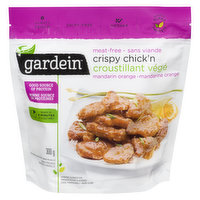Frozen Garden Grown Protein. Meat Free. Better than Take Out, Minutes.