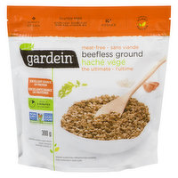 Frozen Garden Grown Protein.  For Meat and Veggie Lovers Alike.