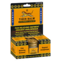 Tiger Balm - Pain Relieving Ointment - Ultra Strength