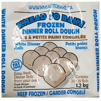Easy, fresh dinner rolls, from your oven. Contains 23-25 rolls. Trans fat free. Keep frozen.
