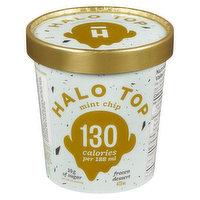 Halo Top Halo Top - Frozen Dairy Dessert - Mint Chip, 473 Millilitre