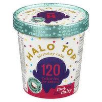 Halo Top - Non-Dairy Frozen Dessert - Birthday Cake, 473 Millilitre