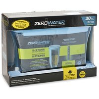 Removes virtually all total dissolved solids for the purest tasting water. 15 x 5.5 x 10.625 in.