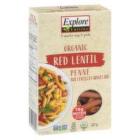 Explore Cuisine - Organic Red Lentil Penne Pasta