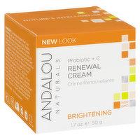 Andalou Naturals - Probiotic +C Renewal Cream - Brightening, 50 Millilitre