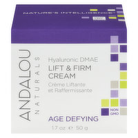 Andalou Naturals - Hyaluronic DMAE Lift & Firm Cream