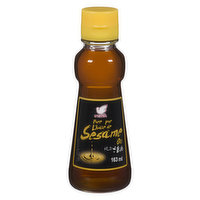 Made of 100% sesame seed; Product of Japan; Strong sesame aroma.