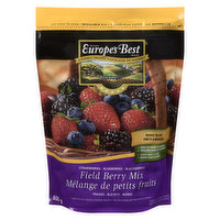 A delightful combination of strawberries, blueberries & blackberries. Great as a fruit salad or smoothies. Keep frozen.