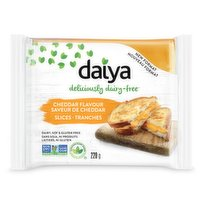 Daiya - Cheddar Style Cheese Slices Lactose Free, 220 Gram