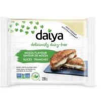 Daiya Daiya - Slices - Mozzarella Style, 220 Gram