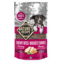 Nature's Recipe Nature's Recipe - Dog Treats - Chewy Bites Turkey Pea & Carrot, 100 Gram