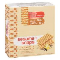 Sesame Snaps - Vanilla