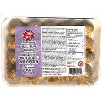 Eastern Family - Estn Fmy Pork&Shrimp Wonton HK Style, 355 Gram