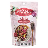 Prana Prana - Organic Black Chia Seeds, 300 Gram