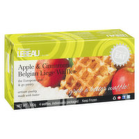 Patisserie Leabeau Patisserie Leabeau - Apple & Cinnamon Belgian Waffles, 4 Each