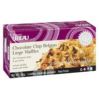 Patisserie Lebeau Patisserie Lebeau - Chocolate Chip Belgian Waffles, 4 Each