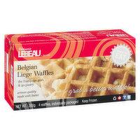 Patisserie Lebeau Patisserie Lebeau - Belgain Waffles Original, 4 Each