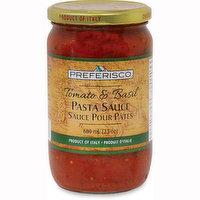 Preferisco - Tomato & Basil Pasta Sauce, 680 Millilitre