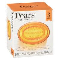 Pears - Transparent Bar Soap
